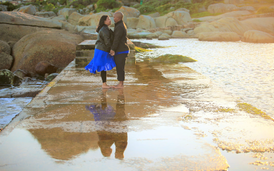 {ENGAGEMENT} Genevieve & Clinton | Camps Bay